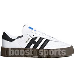 Wholesale Nova sambarose cobra mulheres tênis de corrida de alta qualidade para homens luz azul rosa todos preto branco samba designer sneakers casual shoes eur