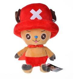 Brinquedos de pelúcia boneca de uma peça on-line-2019 30 cm Anime One Piece figura boneca de pelúcia Tony Tony Chopper cinco figuras de cor brinquedos de pelúcia frete grátis