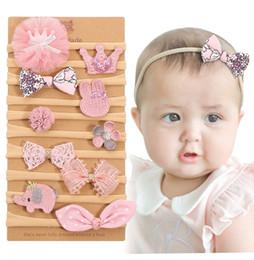 Argentina 90707 bebé arco de la corona accesorios del pelo de las vendas Boutique Fashion Kids personalizada caliente de la venta del niño recién nacido princesa vendas del bebé Suministro