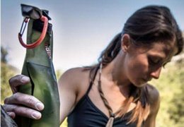 Canada vente en gros créatif 700 ml de bande dessinée souple pliable pliable réutilisable sport bouteilles d'eau sac de glace sac de plein air pliant bouteille d'eau de sport Offre