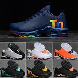 Orijinal Kadın erkek Mercurial Tn Artı Koşu Ayakkabı Chaussures Femme Tn Tasarımcı Sneakers kpu Deri Kadın Spor Eğitmenler Mesh Ayakkabı 36-40 nereden kamalar 12cm tedarikçiler