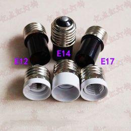 адаптер лампы e27 e14 Скидка E27 к E14 держатель лампы конвертер E12 E14 E17 хрустальная люстра адаптер E27 к E12 светодиодные лампы голова E27 к E17 конвертер адаптер