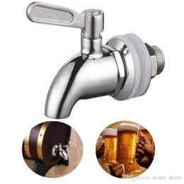 rubinetti da birra bar Sconti 1 pz rubinetto in acciaio inox rubinetto per casa barile fermentatore vino birra bevanda succo distributore di bevande frigo bar accessorio