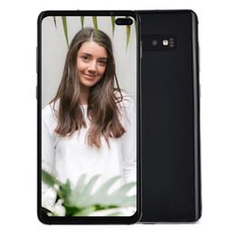 """smartphone dhl schifffahrt android Rabatt Heißer Verkaufs-6.4"""" Durchschlags-Loch-Vollbild Goophone S10 + S10 Android 9.0 In-Display-Fingerabdruck-Face ID 4G LTE Octa-Core 16.0MP Kamera Smartphone"""