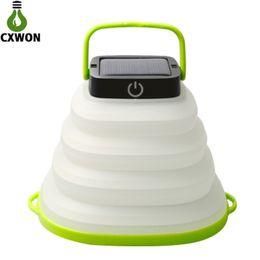 luzes de lanterna de emergência led recarregáveis Desconto Portátil de acendimento portátil dobrável iluminação abs 500 mah usb recarregável de lanterna LED de emergência mini lanterna led luz para escalada ao ar livre