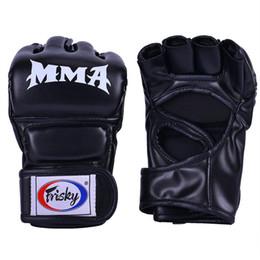 Guantoni da boxe Kick Fighting MMA Sport Guanti in pelle PU Muay Thai box lotta mma guanti boxe sanda boxe pad da