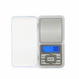 2019 alimentos dietéticos 100gx0.01g Escalas 200gx0.01g 500gx0.1g portátil Mini Balança Digital Jóias bolso equilíbrio de peso Gram LCD Pesando
