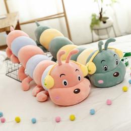 brinquedos macios da lagarta Desconto 1 pc lagartas plush kids toys macio travesseiro de pelúcia animais boneca meninos das meninas brinquedo peluche almofada para crianças presentes