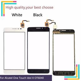 10pcs Pour Alcatel One Touch Idol X OT6040 6040 6040A 6040E OT6040X Écran Tactile Panneau Capteur Digitizer Avant Verre ? partir de fabricateur