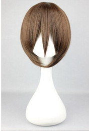 2019 le più belle parrucche SPEDIZIONE GRATUITA + HOT Womens Womens BOBO Style Girls Short Hair Cosplay Party Cool Full Wigs le più belle parrucche economici