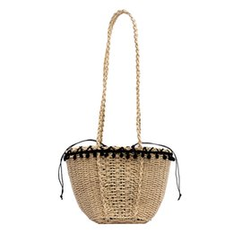 Sacchetti di spiaggia del progettista all'ingrosso online-Commercio all'ingrosso del sacchetto del progettista cinghie Crossbody Borse Cell Phone Tote Beach Bags Fashion Shopping Bag-alta capacità String Crochet qualità eccellente