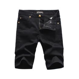 Homens jeans do clube on-line-Medusa de luxo novo 2019 Homens Denim Rasgando shorts Jeans Night club azul Algodão moda Apertado verão dos homens calças jeans pour hommes