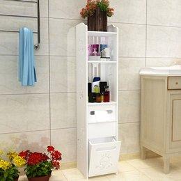 Fashion Modern Stand Toilette Schrank Folding Badezimmer Storage Rack  Waschbecken Dusche Regal Eckschrank