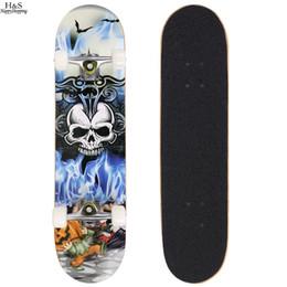 borse per scooter Sconti Skateboard completo Skateboard PRO Print Skateboard in legno + ruote complete Skateboard Skateboard Deck completo, dimensioni coperta: 78,5 x 19,5 x 9,5 cm