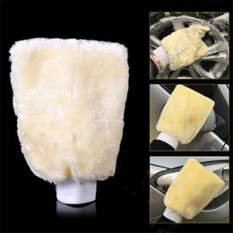 car mitts Coupons - Newest Hot Man-made Plush Mitt Car Wash Mitten Washing Glove Cleaning Brush Tools Scouring Pad Glove