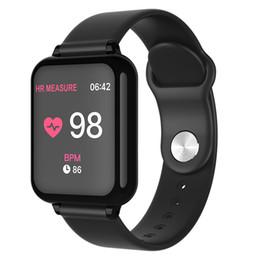 Chkepz B57 Akıllı Bant 2018 Kan Basıncı Akıllı Izle Kalp Hızı Monitörü Spor Bilezik Erkek Kadın Spor Bileklik Su Geçirmez J190522 nereden