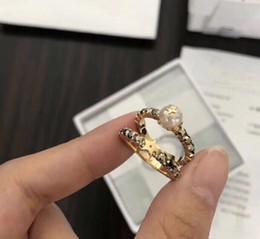 Beliebte schmucksets online-Beliebte modemarke Hohe version designer ringe set für dame Design Frauen Party Hochzeit Liebhaber geschenk Luxus Schmuck für Braut Mit BOX.