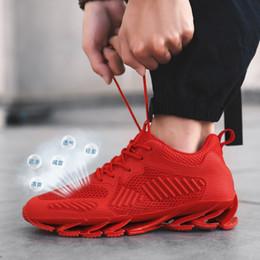 42a3df4c5dfb caldo di alta qualità 2019 nuovo volo tessuto coltello bordo sportivo  casual versione coreana della gioventù traspirante scarpe da uomo  all'aperto scarpe