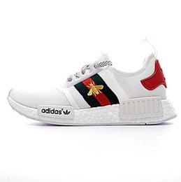 online store 47f2f 1ccea zapatos de color beige hombres Rebajas 15-Colores baratos NMD R1 X BEES PK  Primeknit