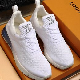 Calzado hombre moda deporte online-2019 Calzado deportivo para hombre Zapatillas de deporte Pisos Zapatos casuales Tenis Confort Tendencia Calzado con cordones de alta calidad V.N.R SNEAKER M22 Zapatos para hombre Moda