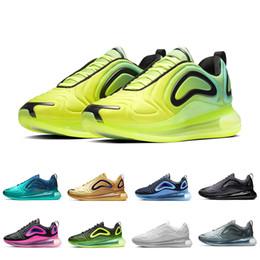 i nuovi pattini di sport degli uomini di arrivo Sconti Nike Air max 720 shoes Be True Obsidian Volt KPU OG Scarpe da corsa per uomo donna Laser Rosa Triple nero Metallizzato Platino Mens scarpe da ginnastica Sport scarpe da ginnastica