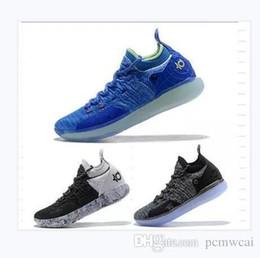 2019 дизайнерская обувь Zoom KD 11 Мужчины Баскетбольная обувь KDs XI Кевин Дюран Спорт на открытом воздухе Fmvp боевые ботинки размер нас 7-12 от Поставщики размер обуви durant