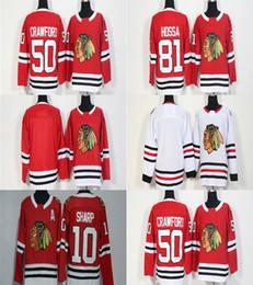 7685c64f0 Mens Womens Youth Custom Blank Chicago Blackhawks 10 Patrick Sharp 50 Corey  Crawford 81 Marian Hossa Blank Red White Cheap Hockey Jerseys