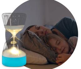 Песочные часы Night Light Творческий Девять Бусины Sleep Light Сроки Украшения Красочные Огни Песочные Часы атмосфера лампы подарок от Поставщики увеличительная линза