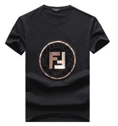 2019 camisa rosa para hombre 2019 Moda de diseño de lujo Camiseta Hip Hop Blanco para hombre Ropa Casual Camisetas para hombres con letras impresas camiseta tamaño M-3XL -998