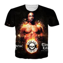 60352f5d519 Discount tupac tee shirts - Fashion Funny Rapper Tupac 2pac Newest Fashion  Men Women Tops 3D