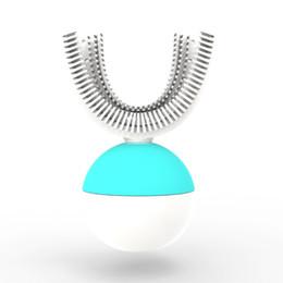 İyi kalite OEM 360 U-şekilli Teknoloji Akıllı Sarılmış su geçirmez IPX7 Silikon Elektrikli Tembel Yetişkin Otomatik Diş Fırçası Üreticisi Tedarikçi nereden