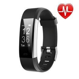 Fitness Tracker HR, Activity Tracker Uhr mit Herzfrequenzmesser, wasserdichtes Smart Fitness Band mit Schrittzähler, Kalorienzähler von Fabrikanten