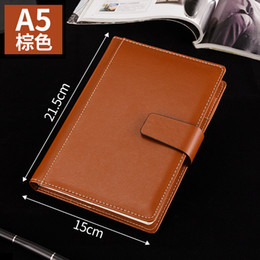 2019 livro em capa dura Caderno engrossado Notepad B5 diário de couro de negócios grande super grosso A5 simples estudante notebook