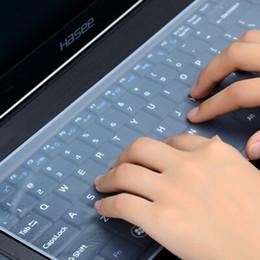 2020 filmtastaturen Wasserdichte Laptop-Tastatur Schutzfolie 15 Laptop-Tastatur Abdeckung 15.6 17 14 Notebook-Tastaturabdeckung staub- Film rabatt filmtastaturen