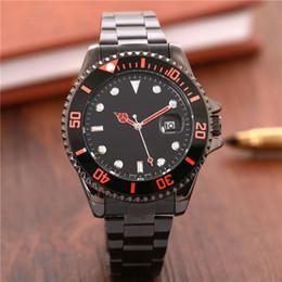 мужские большие наручные часы серебро Скидка 2018 большие часы Luxury New Gent's GMT II кварцевые с автоподзаводом Часы из нержавеющей стали Dive Белый Черный Серебряный Master 44 мм Мужские часы
