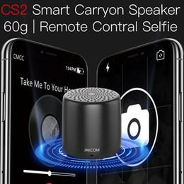 JAKCOM CS2 Smart Carryon Speaker Venta caliente en otras partes del teléfono celular como caja de tijeras negra de cine en casa smartwatch dz09 desde fabricantes