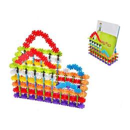 3D Puzzle Jigsaw plástico copos de nieve bloques de construcción modelo de construcción Puzzle juguetes educativos para niños c009 desde fabricantes