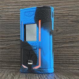 обложки мода Скидка Текстурный чехол для VOOPOO Woody Vapes X217 217W TC Box Mod Защитный силиконовый чехол с защитной пленкой для Woody Vape X 217