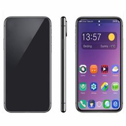 2019 placa de tv analógica Goophone XS MAX Quadriciclo MTK6580 Celular 1 GB 4 GB Mostrar 512 GB Mostrar 4G lte Smartphone 3G Telefone Desbloqueado