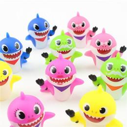 jouets élves Promotion Slag Elves Requin Squeeze Jouets Pvc Mulit Couleur Poupée Dix Pcs Un Ensemble Poupées Kid Party Favor 12xzc E1