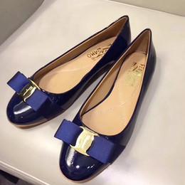 насосы плоские женские Скидка Официальная обувь плоские насосы обувь для свадьбы женщина лодка обувь дамы основной кожаный насос Stivali moda per donna Varina балета плоские горячие продажи
