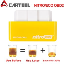 15% экономия топлива EcoOBD2 NitroOBD2 чип тюнинг коробка штекер для бензина для дизельного автомобиля водитель диагностический инструмент 4 цвета от Поставщики digiprog toyota
