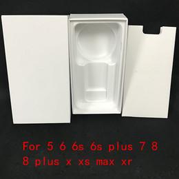 Deutschland 50 stücke hohe qualität us eu version alle telefon verpackung verpackung box case für iphone ohne zubehör leere kleinkästen supplier iphone empty packages Versorgung
