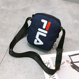 2019 sacos de bainha de ombro cruz FILA Mulheres Homens Lona Cross Body Messenger Bag Sling Bolsas de Ombro Crossbody Shell Embala BA305 sacos de bainha de ombro cruz barato