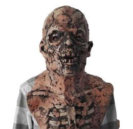 letzte fantasieschuhe Rabatt Halloween Scary Herren Maske Mode Latex Zombia Antillarum Unisex Maske Resident Evil Maske Kostüm Zubehör