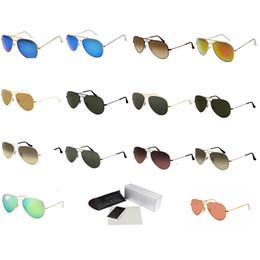 cf46c41a9f Classic Pilot Sunglasses Coating Lenes Men Women Metal Frame Prescription  Discount Eyeglasses Popular Brand Mirroreds Sun Glasses 025