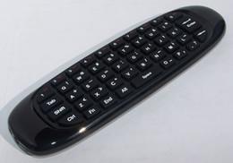 receptor de satélite dbb usb Desconto 10 pcs C120 2.4G Air Mouse Sem Fio Mini teclado 3D Sommatic lidar com Controle Remoto para Laptop Set-top-boxes Android TV
