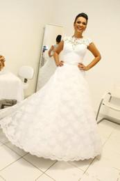 2019 robe de mariée convertible longue courte 2019 nouvelle robe de bal robes de mariée col haut sans manches longues robes de mariée style robe de mariage robes de mariée