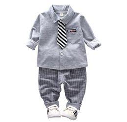 4217d98141e3 2019 baby Boys Sport Clothes Casual Children Clothing Set Spring Autumn  Zipper Leisure Sports Suit Jacket + Pants Kids Bebes Jogging Suits