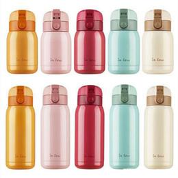 2019 bounce cup Edelstahl Wasserflasche Saugnapf Doppelschicht-Thermosbecher Versiegeln Leckverhütung Prellen BottlesTumbler In Love Fashion